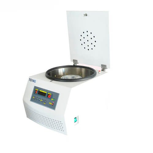 Desktop high speed centrifuge