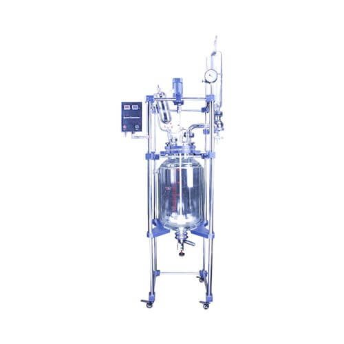 S212-50L Double-Layer Glass Reactor