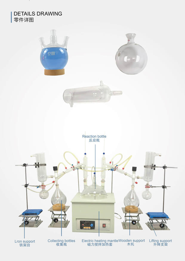 Short Path Distillation Parts