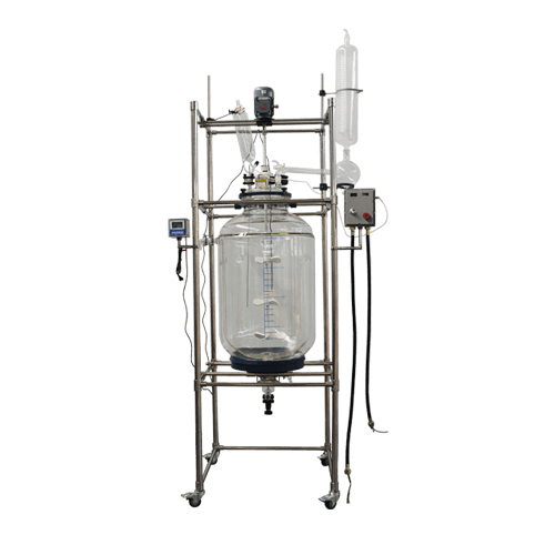 200L Double-Layer Glass Reactor