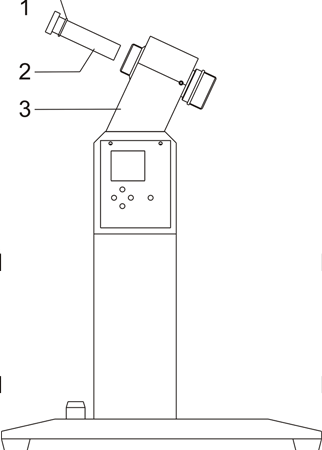 Rotary shaft installation drawing