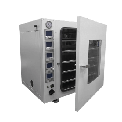 Multi-layer temperature-controlled vacuum drying oven